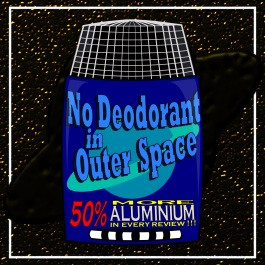 No Deodorant In Outer Space logo